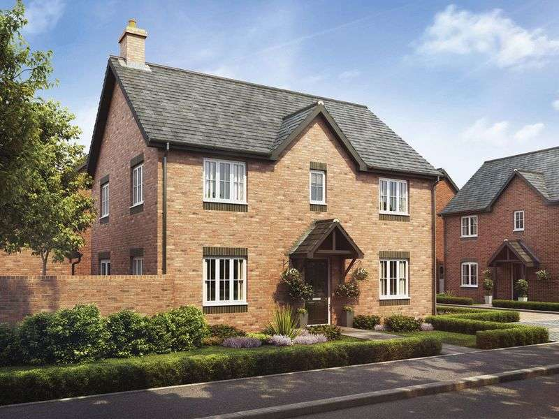 4 Bedrooms Detached House for sale in Plot 15 The Cedar, Barley Fields, Uttoxeter