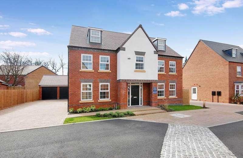 5 Bedrooms Detached House for sale in The Fletcher, Woodthorne, Wergs Road, Tettenhall, Wolverhampton WV6