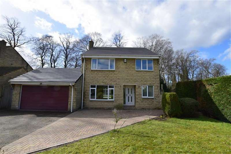 4 Bedrooms Detached House for sale in Dearne Park, Clayton West, Huddersfield, HD8