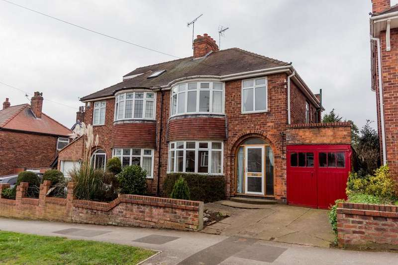 3 Bedrooms Semi Detached House for sale in Manor Drive North, YORK