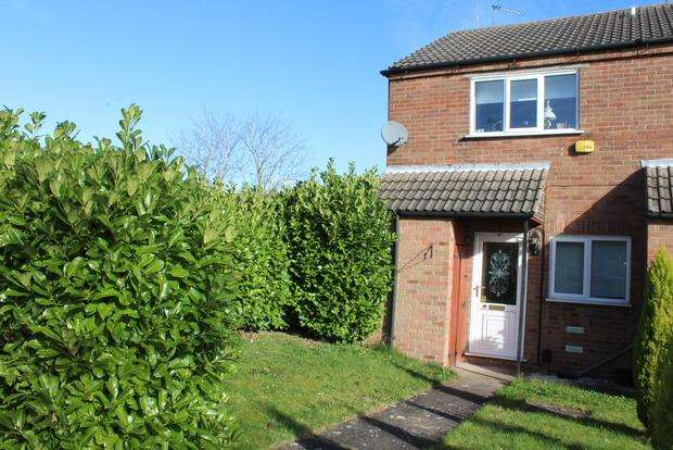 2 Bedrooms Terraced House for sale in Beverley Close, Rainworth, Mansfield, NG21