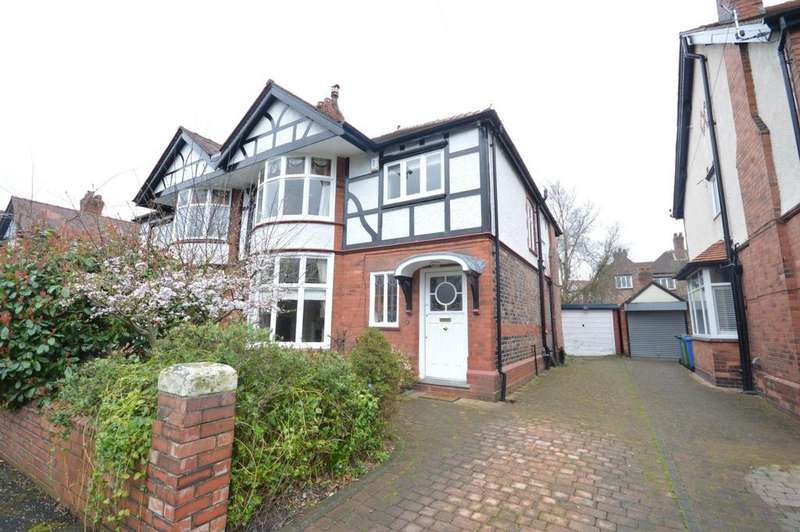 4 Bedrooms Semi Detached House for sale in Greenbank Road, Stockton Heath