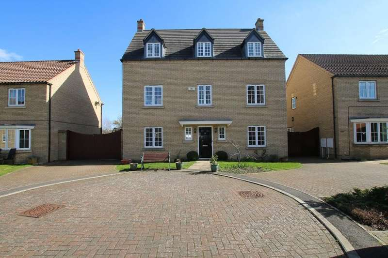 5 Bedrooms Detached House for sale in St. Francis Drive, Chatteris