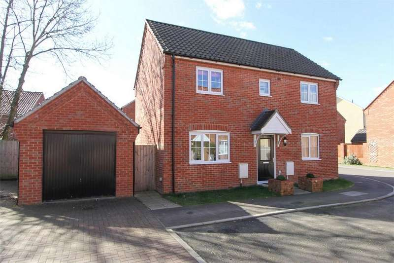 3 Bedrooms Detached House for sale in Poll Close, Wymondham, Norfolk