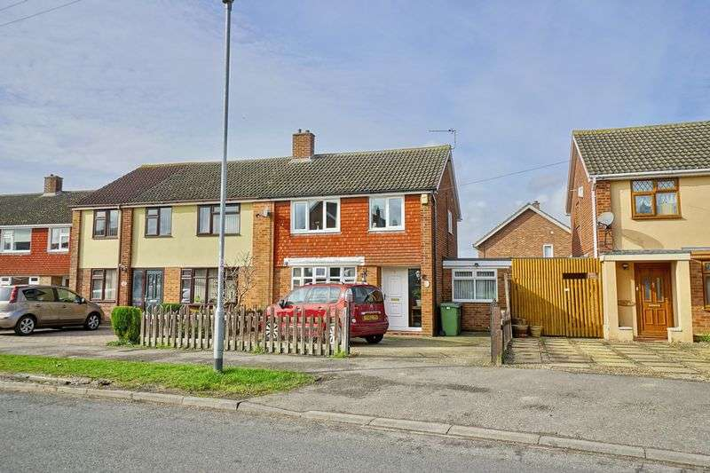 3 Bedrooms Semi Detached House for sale in Longsands Road, St. Neots