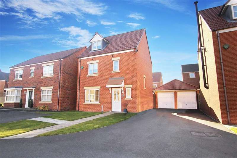 4 Bedrooms Property for sale in Ridley Gardens, Earsdon View, Tyne And Wear