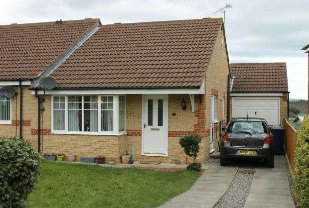 2 Bedrooms Semi Detached Bungalow for sale in Wensleydale, Skelton