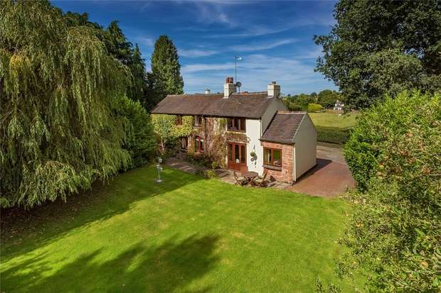 4 Bedrooms Detached House for sale in Mill Green, Hinstock, Market Drayton, Shropshire