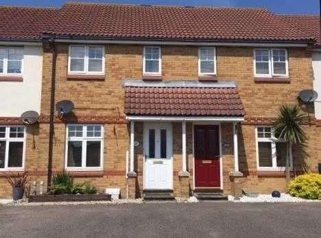 2 Bedrooms Terraced House for sale in Samoa Way, Eastbourne