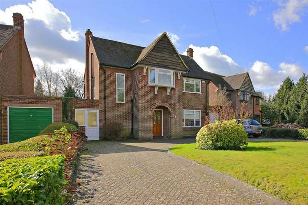 4 Bedrooms Detached House for sale in Shenley Hill, RADLETT, Hertfordshire