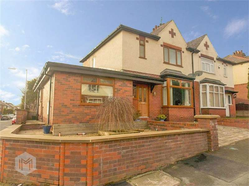 3 Bedrooms Semi Detached House for sale in Brentford Avenue, Smithills, Bolton, Lancashire