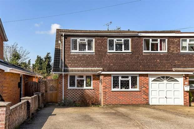 3 Bedrooms Semi Detached House for sale in Forest Road, CROWTHORNE, Berkshire