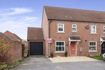 3 Bedrooms Semi Detached House for sale in Uxbridge Lane Kingsway, Quedgeley, Gloucester, Gloucestershire