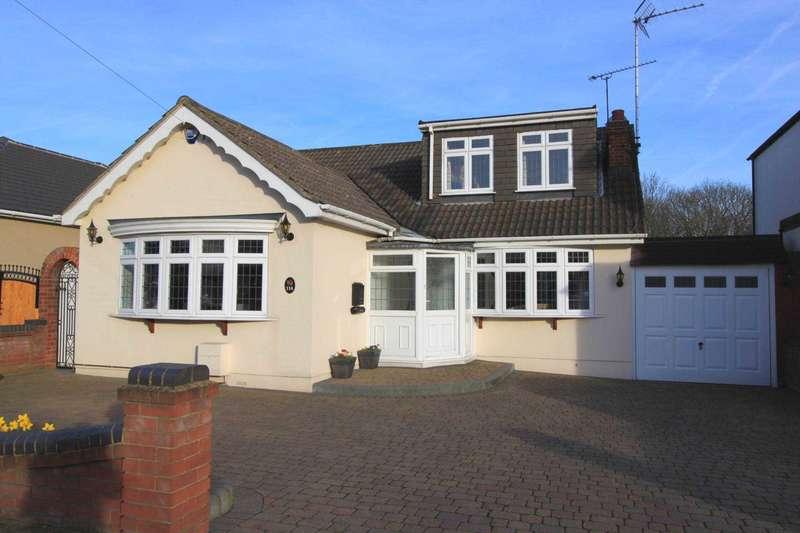 4 Bedrooms Bungalow for sale in Wingletyre Lane, Hornchurch