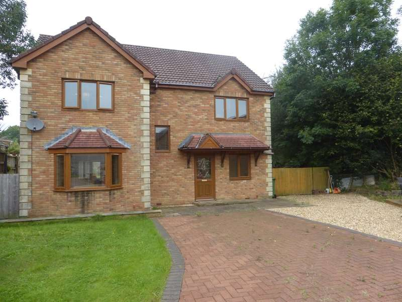 4 Bedrooms Detached House for sale in St Francis Field, Thomastown, Porth