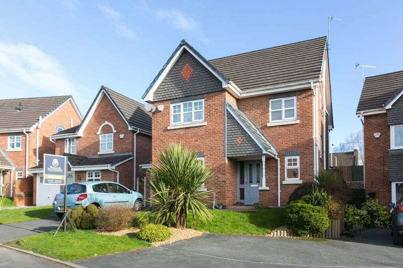 4 Bedrooms Detached House for sale in Farrier Way, Appley Bridge, WN6 9AZ