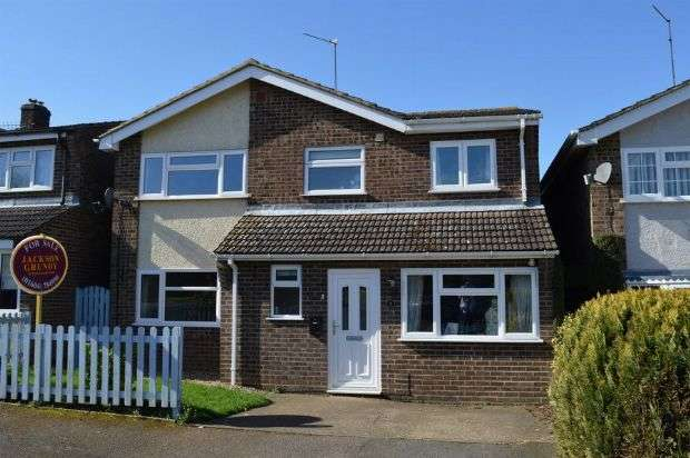 4 Bedrooms Detached House for sale in Corn Kiln Close, Cogenhoe, Northampton NN7 1NX