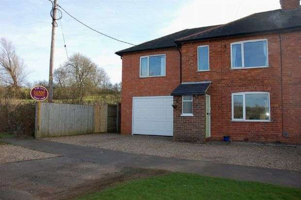 3 Bedrooms Semi Detached House for sale in Station Road, Brixworth, Northampton NN6 9BP