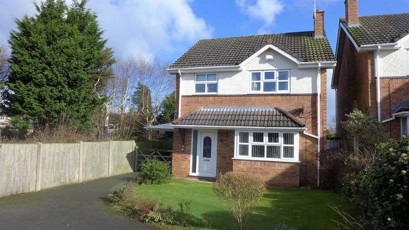 3 Bedrooms Detached House for sale in Thornleigh, Wrexham