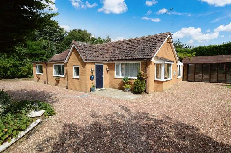 4 Bedrooms Detached Bungalow for sale in Woodleigh, Sandy Lane, Woodhall Spa