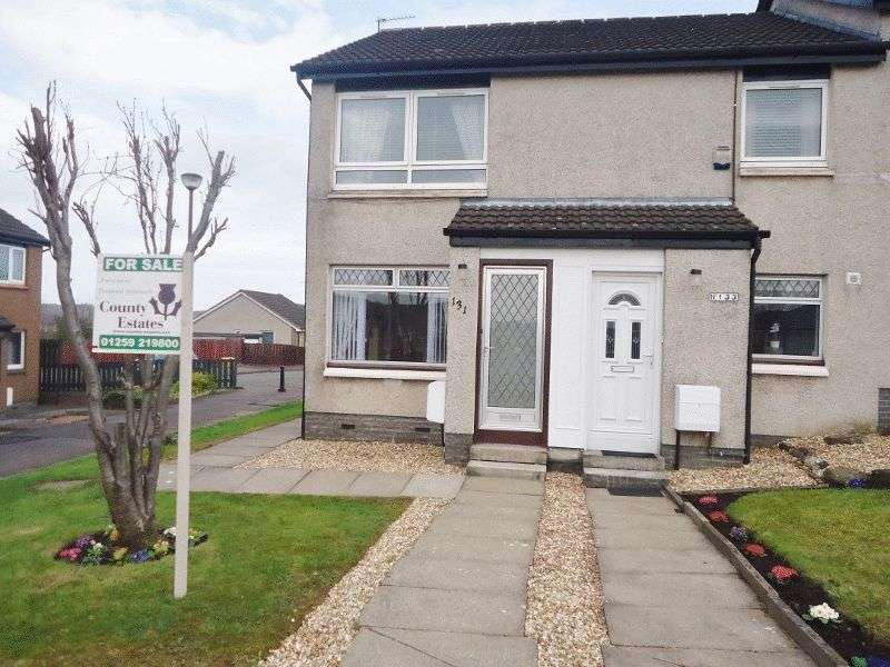 2 Bedrooms Flat for sale in Nevis Crescent, Alloa