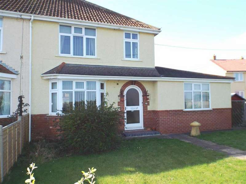 3 Bedrooms Semi Detached House for sale in Main Road, West Huntspill