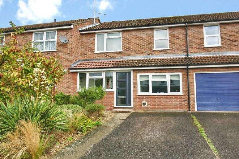 3 Bedrooms Terraced House for sale in Naverne Meadows, Woodbridge