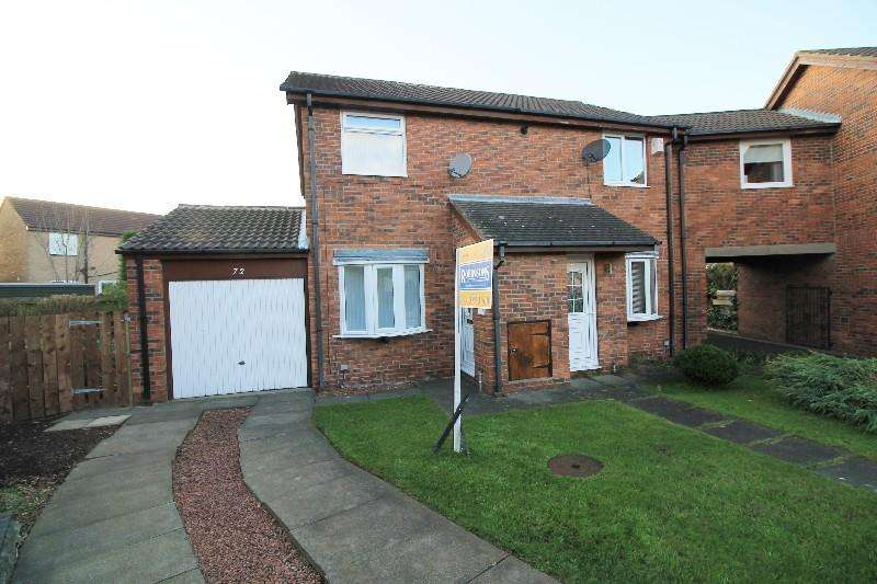 2 Bedrooms Semi Detached House for sale in Carlton Close Ouston, Chester Le Street