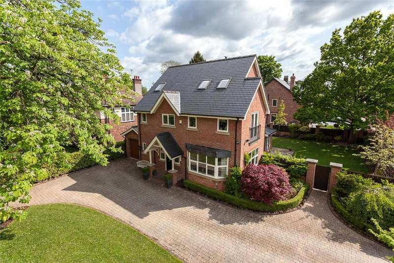 5 Bedrooms Detached House for sale in Hawthorn Lane, Wilmslow, Cheshire, SK9