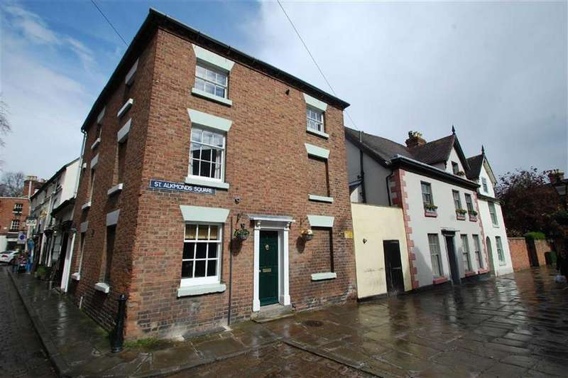 2 Bedrooms Town House for sale in St Alkmonds Square, Shrewsbury