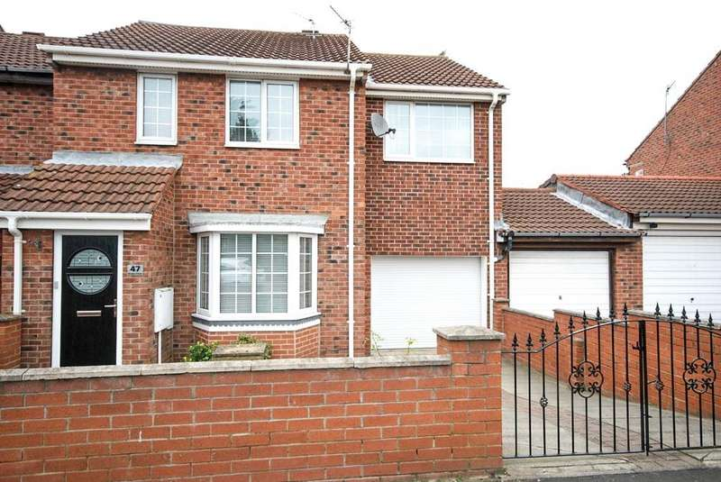 3 Bedrooms Semi Detached House for sale in Drake Close, South Shields