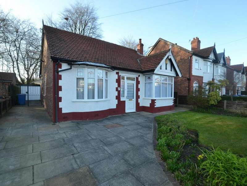 3 Bedrooms Detached Bungalow for sale in Clarendon Road, Sale