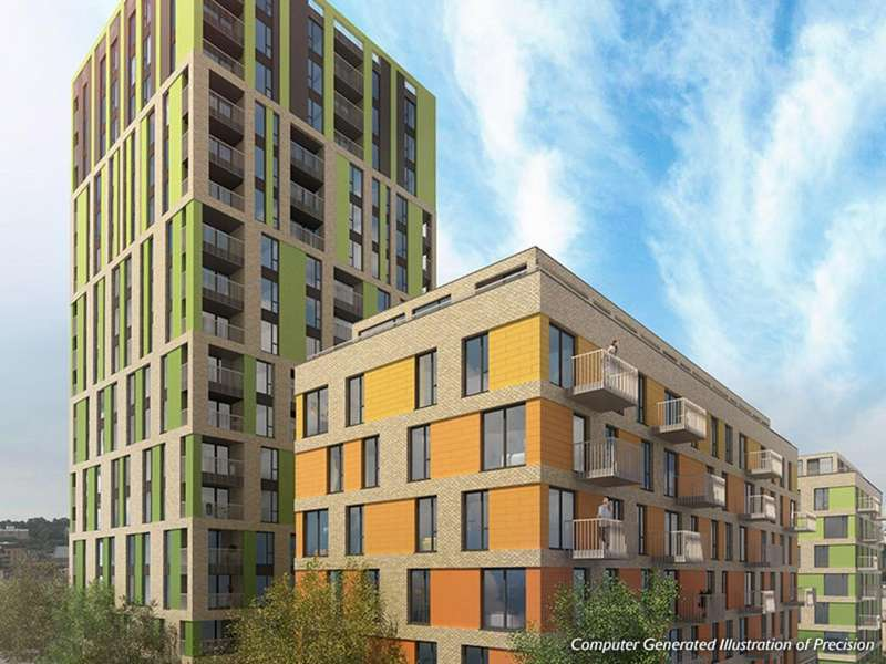 2 Bedrooms Apartment Flat for sale in Buchanan Block, Precision Greenwich, SE10