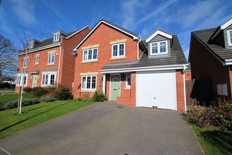 5 Bedrooms Detached House for sale in Ecklands Croft, Millhouse Green, Sheffield