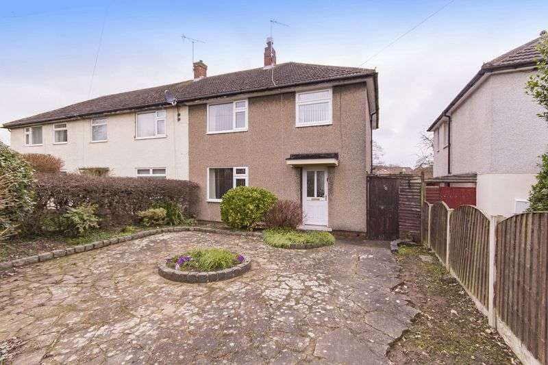 3 Bedrooms Semi Detached House for sale in TOPLEY GARDENS, CHADDESDEN