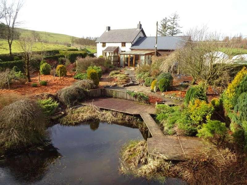 5 Bedrooms Detached House for sale in Bwlch-y-Sarnau, Rhayader, Powys