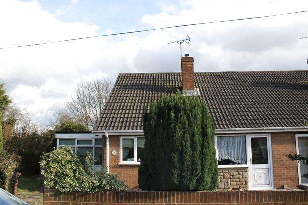2 Bedrooms Semi Detached House for sale in Woodhall Close, Mansfield, NG18