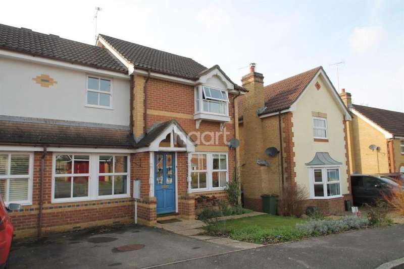 3 Bedrooms Semi Detached House for sale in Wagtail Close, Horsham, RH12