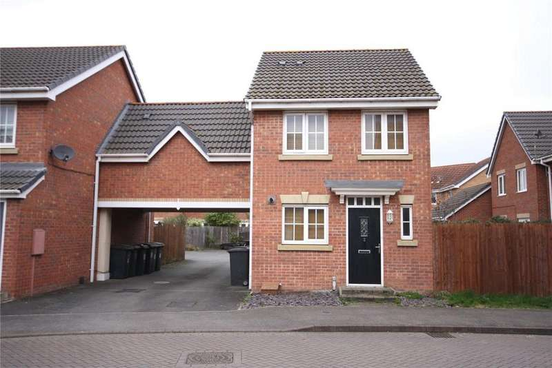 2 Bedrooms Link Detached House for sale in Arvina Close, North Hykeham, Lincoln, LN6