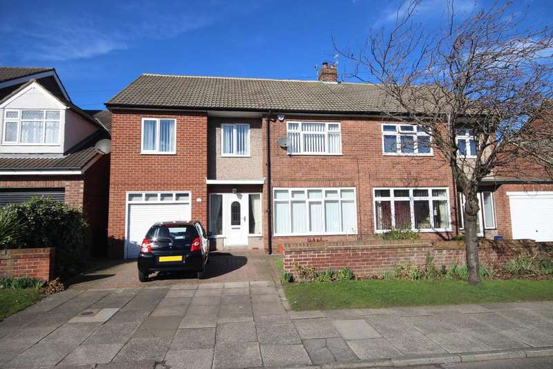 5 Bedrooms Semi Detached House for sale in Monkseaton Drive, Whitley Bay, NE26