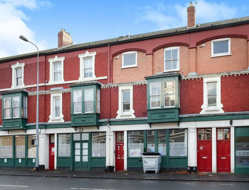 2 Bedrooms Flat for sale in Moira Terrace, Cardiff