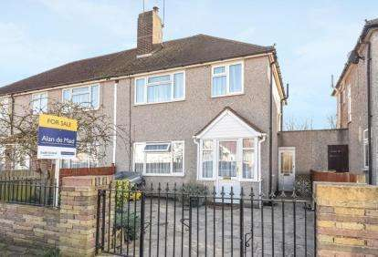 3 Bedrooms Semi Detached House for sale in Oakdene Road, Orpington