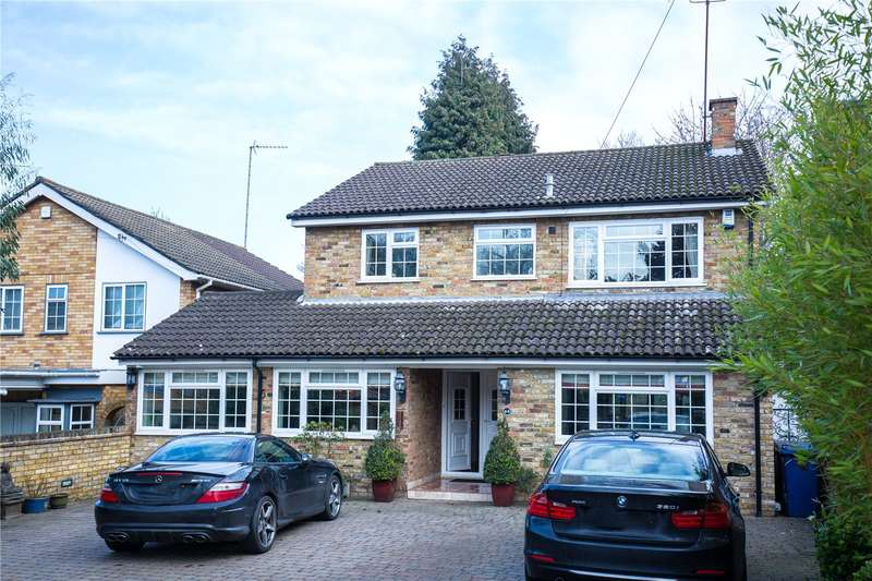 4 Bedrooms Detached House for sale in Oakleigh Park South, London, N20