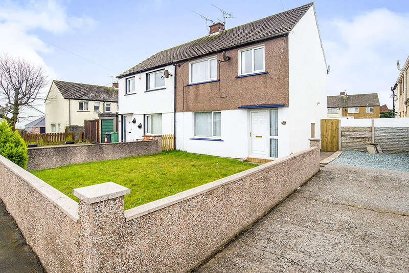3 Bedrooms Semi Detached House for sale in Newlands Lane South, Workington, CA14