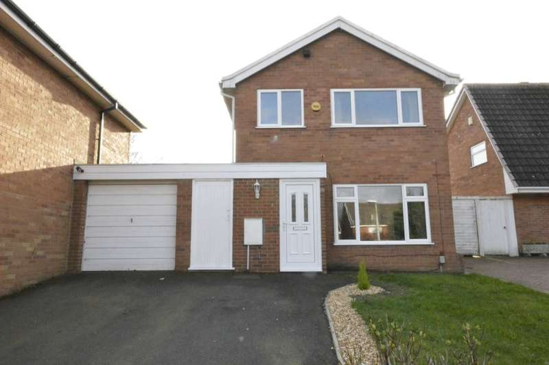3 Bedrooms Detached House for sale in Stowe Close, Stirchley, Telford, TF3