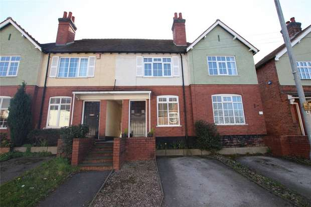 2 Bedrooms Terraced House for sale in Rotten Row, Lichfield, Staffordshire