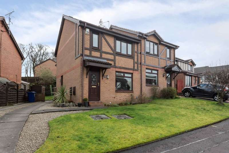 3 Bedrooms Semi Detached House for sale in Sandielands Avenue, Erskine, Renfrewshire, PA8 7BP