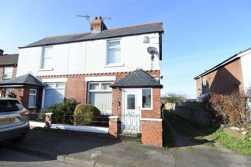 2 Bedrooms Semi Detached House for sale in Front Street, Cotehill