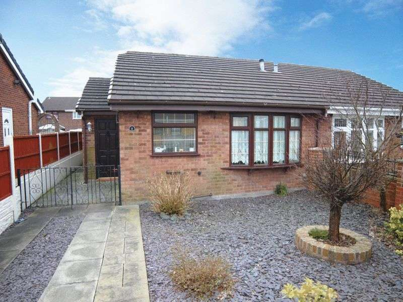 2 Bedrooms Semi Detached Bungalow for sale in Sheldrake Grove, Fenpark, Stoke-On-Trent, ST4 3RA
