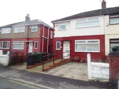 3 Bedrooms Semi Detached House for sale in Marlborough Avenue, Bootle, Liverpool, Merseyside, L30